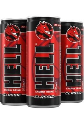 Hell Enerji Içeceği Classic 250 ml x 12 Adet