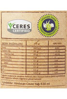 Güzel Ada Gıda Organik Hindistan Cevizi Yağı Soğuk Sıkım 630 ml