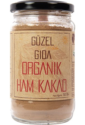 Güzel Ada Gıda Organik Ham Kakao 150 gr