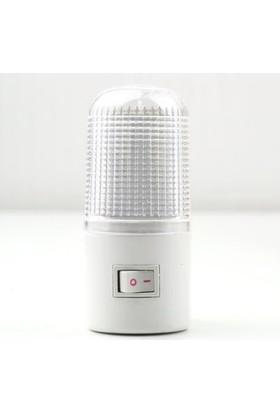 Vmax Anahtarlı LED Gece Lambası 0.3 Watt