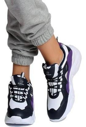 Conpax Yuksek Taban Kadın Spor Ayakkabı