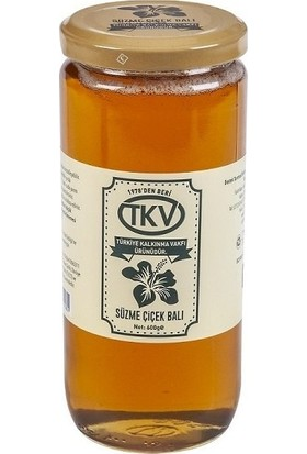 TKV Süzme Çiçek Balı (600GR)