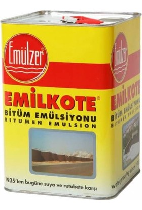 Emülzer Emilkote Çatı Bodrum Su Izolasyon Yalıtım Zifti 4.5 kg