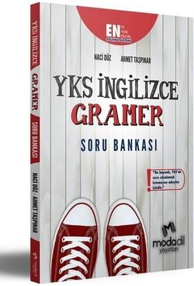 Modadil Yayınları YKS İngilizce Gramer Soru Bankası - Ahmet Taşpınar