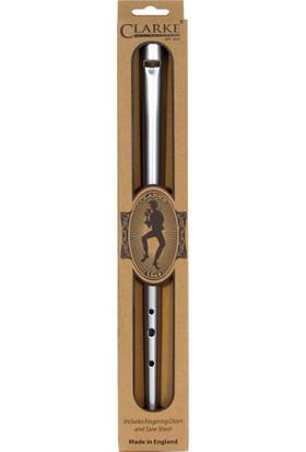 Clarke Irlanda Flütü -Tinwhistle D Original Gümüş
