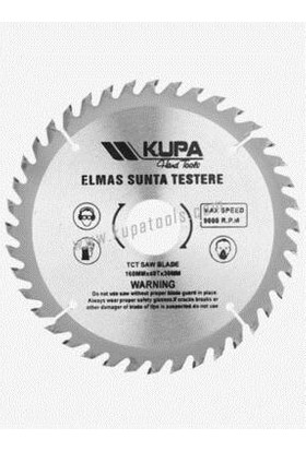 Kupa Daire Elmas Sunta Testere 40 Diş 160 mm