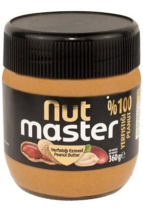Nut Master Yerfıstığı Ezmesi 360 gr 8 Adet