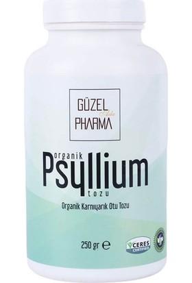 Güzel Gıda Organik Psyllium Organik Karnıyarık Tozu 250 gr