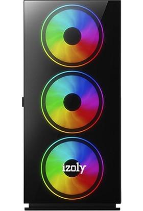 Izoly Life Intel Core i3 10100F 16GB 512SSD RX550 Masaüstü Bilgisayar