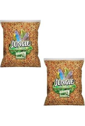 Jungle Poşet Muhabbet Kuşu Yemi 1 kg x 2 Adet