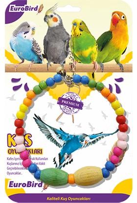Eurobird Kuş Oyuncağı Boncuklu Büyük Halka