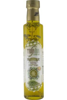 Troyida Naturel Kekik Çeşnili Sızma Zeytinyağı Cam Şişe 250 ml