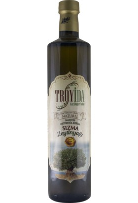 Troyida Naturel Sızma Zeytinyağı Cam Şişe 750 ml