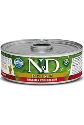 N&d Prime Tahılsız Kitten Tavuklu Narlı Kedi Konservesi 80 gr X12 Adet