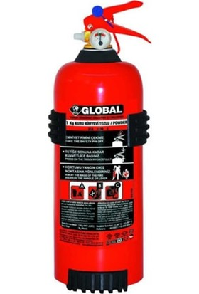 Global 1 kg Yangın Söndürme Cihazı