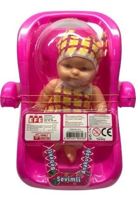 Efe Oyuncak Sevimli Anakucağı Et Bebeğim & Salıncaklı Bebeğim