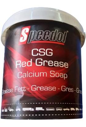 Csg Red Grease/ Kırmızı Gres Yağ 900 gr