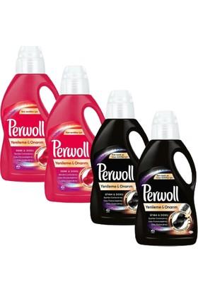Perwoll 16WL. (2*siyah+2*renkli) *4'lü Set