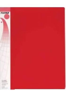 Fujika LG-315 Sıkıştırmalı ve Klipsli Dosya Kırmızı