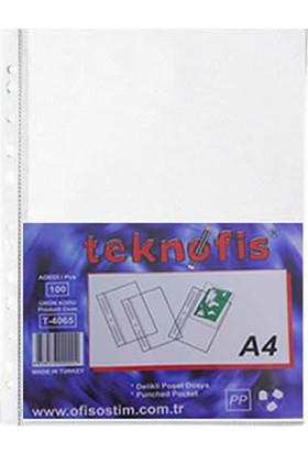 TeknOfis XL A4 Poşet Dosya 100'lü