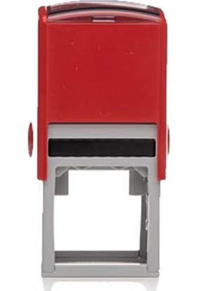 Trodat 4921 Kırmızı Gövde 12 mm Kare Küçük Kaşe