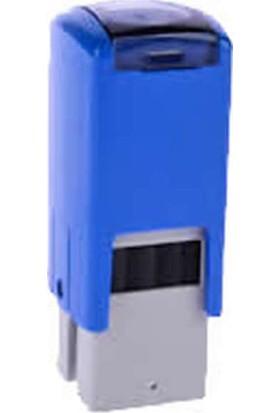 Trodat 4921 Mavi Gövde 12 mm Kare Küçük Kaşe