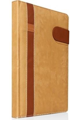 Li̇z Altın Ahşap Kaplama Günlük Ajanda 17 x 24 cm