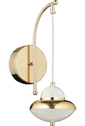 Luna Lighting Modern Luxury Gold Ledli Aplik