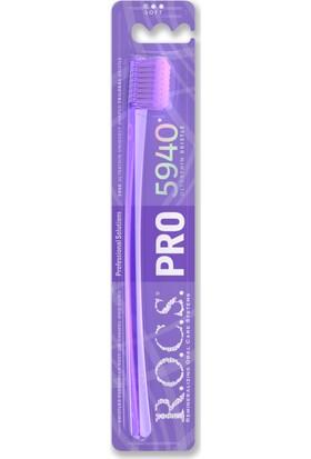 R.o.c.s. Aktif Magnezyum Diş Minesi Besleyici Diş Macunu ve 5940 Pro Diş Fırçası Seti