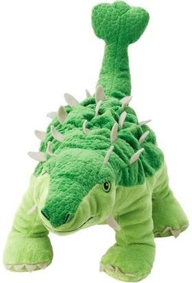 Joysmart Yeşil Dinazor Ankylosaurus Yumuşak Peluş Oyuncak 33 cm
