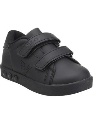 Vicco 313.E19K.100 Günlük Işıklı Kız/Erkek Çocuk Spor Ayakkabı Siyah