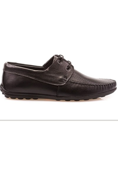 Derimen Deri, Yazlık, Delikli, Casual Erkek Ayakkabı