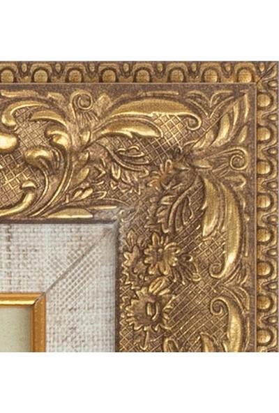Istanbul Temalı 52.5 x 32.5 cm Yağlı Boya Tablo