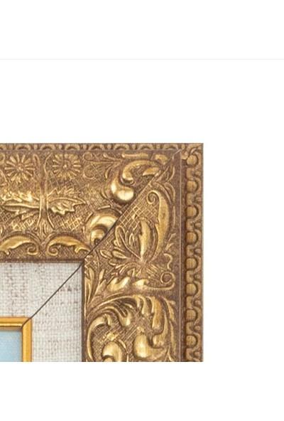 Özgün Temalı 52.5 x 32.5 cm Yağlı Boya Tablo