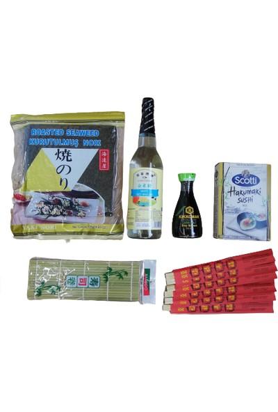 Scotti Hakumaki Hakumaki & Kikkoman Sushi Seti 1