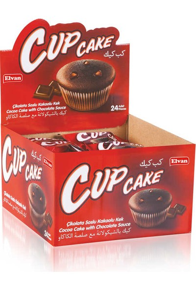 Elvan Cupcake 23GR. 24 'lü (1 Kutu)