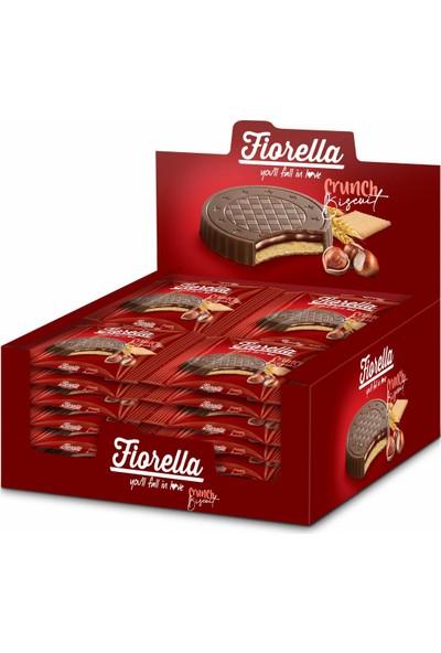 Fiorella Fındık Kremalı Çikolatalı Bisküvi 22,5 gr 24'lü (1 Kutu)