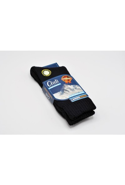 Çekmece 4'lü Erkek Lambswool Trekking Çorap Karışık Renk