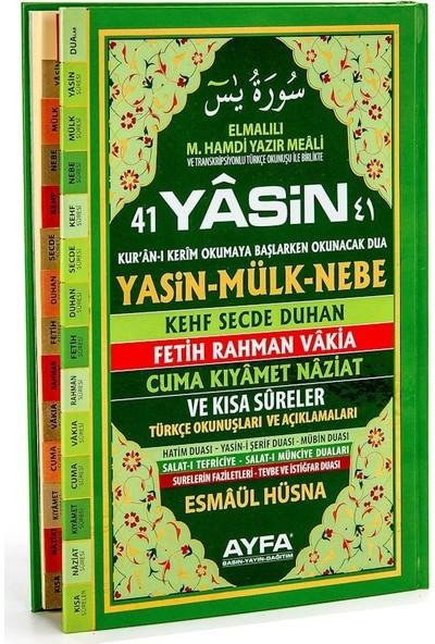 41 Yasin Ayfa Yayınları Sert Kapak Rahle Boy