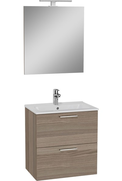 Vitra Mia 75103 Banyo Dolabı Seti Çekmeceli Demonte 60 cm Cordoba