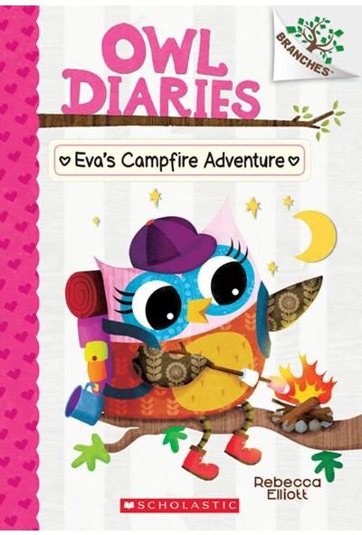 Owl Diaries 12: Eva's Campfire Adventure - Rebecca Elliott
