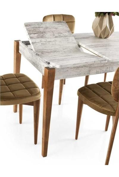 VRL Vario Mutfak Cafe Masası Torta Sandalye Takımı