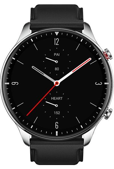 Amazfit GTR 2 47mm Sesli Görüşme 3GB Klasik Akıllı Saat Siyah