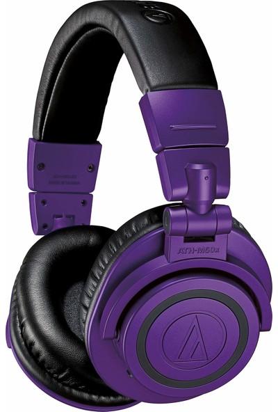 Audio-Technica ATH-M50XBTPB Kablosuz Bluetooth Kulak Üstü Kulaklık (Yurt Dışından)