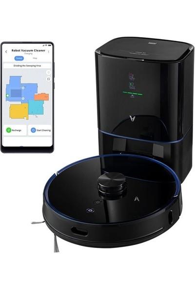 Viomi S9 Robot Vacuum Cleaner Akıllı Robot Süpürge Siyah