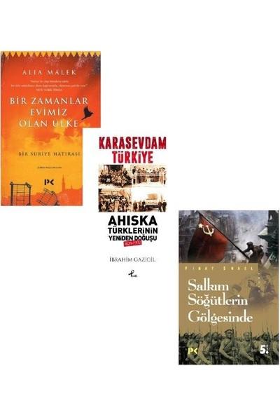Anı Seti 3 Kitap - Alia Malek - İbrahim Gazigil - Fırat Sunel