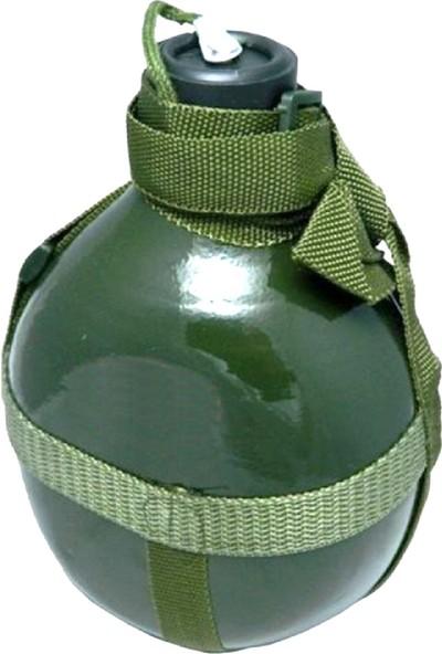 Istikamet Aliminyum Askeri Matara Yeşil