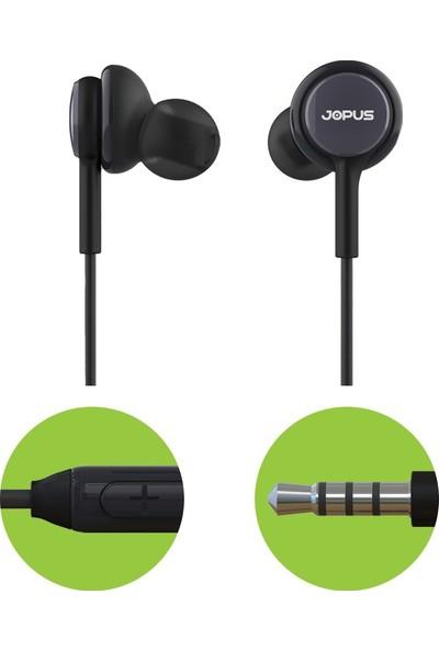 Jopus Darkness Mikrofonlu Kulakiçi Kulaklık 3,5mm Siyah JO-K54