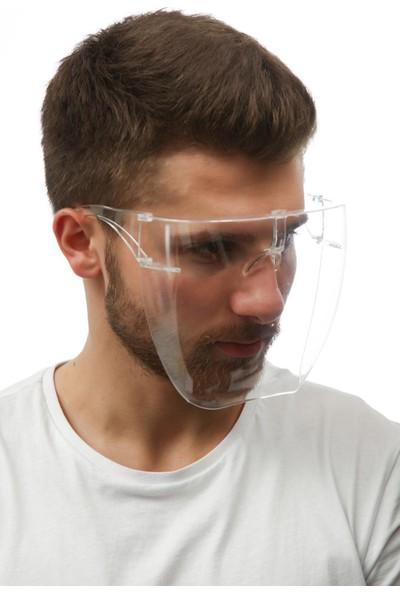Özgürceseç Şeffaf Yüz, Göz ve Ağız Maske Yikanabilir Yeniden Kullanabilabilir