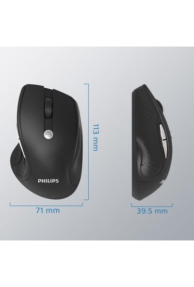 Philips M505 2.4 Ghz Güçlü 7 Düğmeli Kablosuz Optik Mouse